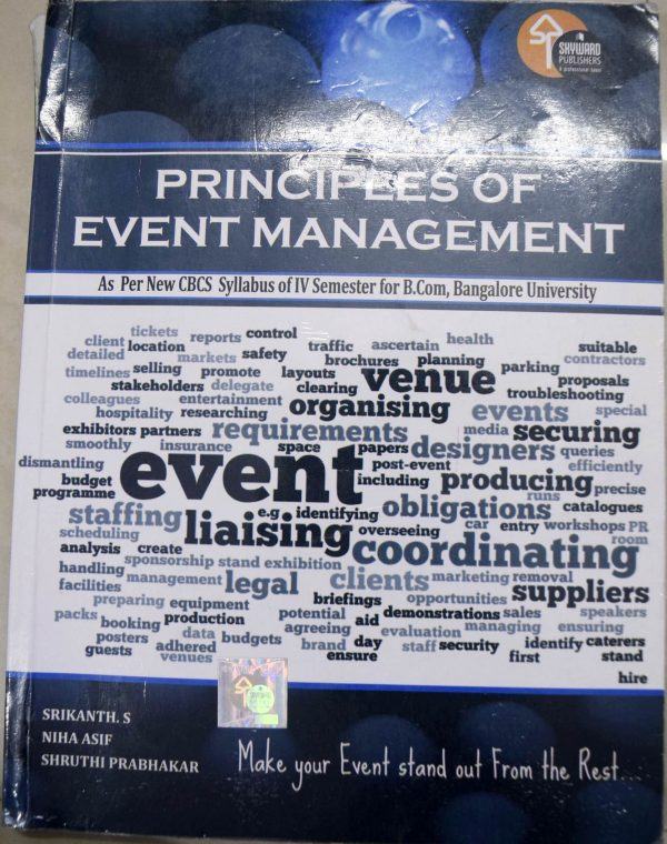PRINCIPLES OF EVENT MANAGEMENT (PEM)