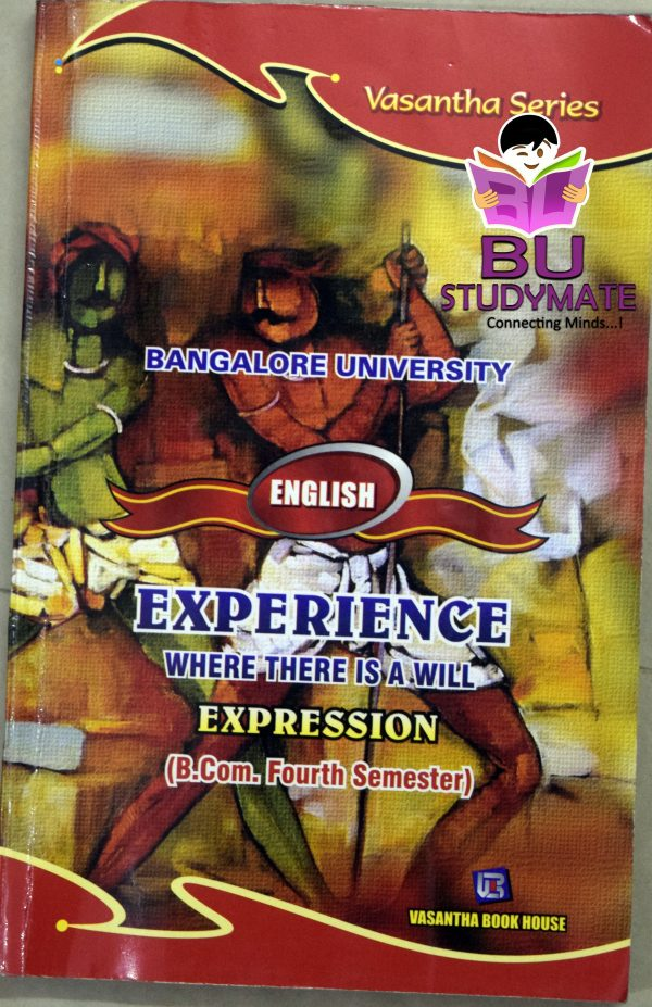 Experience (Where There is a Will) B.com 4th Sem Guide