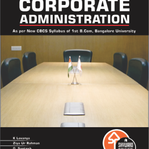 buy corporate administration book fro b.com 1st sem Bangalore university