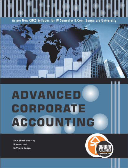 buy Advance Corporate accounting book online