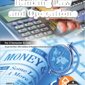 buy Banking Law and Operations for b.com 2nd sem bangalore university
