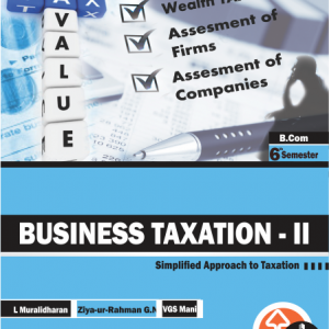 BUY Business Taxation II FOR B.COM 6TH SEM ONLINE