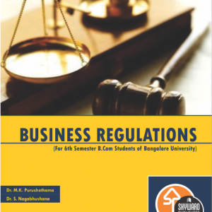 BUY Bussiness Regulations for b.com 6th sem online