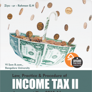 BUY Income Taxation II FRO B.COM 6TH SEM ONLINE