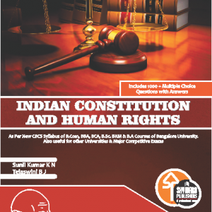 buy Indian Constution and human Right for b.com 1st sem bangalore university