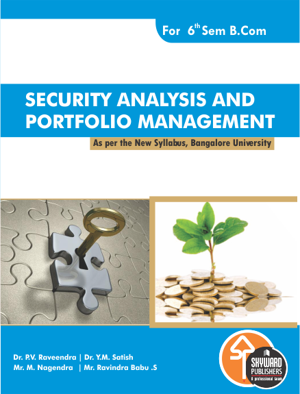 buy Security Annalysis & Portfolio management fro b.com 6th sem bangalore university